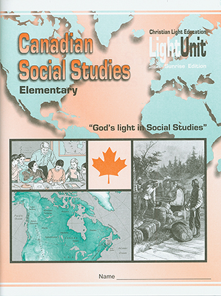 (SE) Canadian Social Studies - Elementary