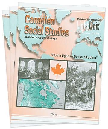 (SE) Canadian Social Studies - Grade 7