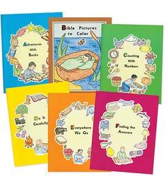 SET - ABC READINESS SERIES (A-F) - 6 Books