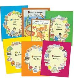 SET - ABC READINESS SERIES (A-F) - 7 Books