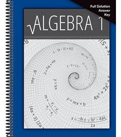 Algebra 1 - Solution Key 1-5