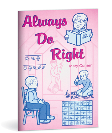 Always Do Right Activity Book