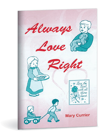Always Love Right Activity Book