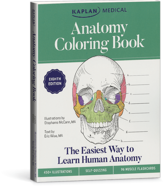 Anatomy Coloring Book - Kaplan Medical