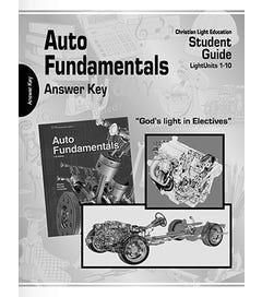 Auto Fundamentals - Teacher Materials - 11th Edition