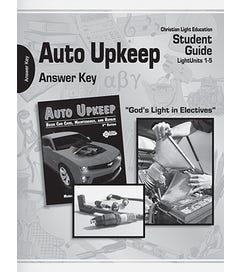 Auto Upkeep - Teacher's Material