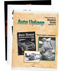 Auto Upkeep - Student Materials