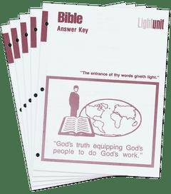 Bible 1001-1010 Answer Key Set • New Testament Survey