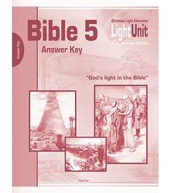 (SE) Bible 501-505 Answer Key