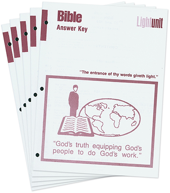 Bible 1201-1210 Answer Key Set • Major Themes II