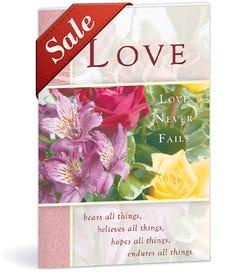 Church Bulletin - Floral (Wedding)