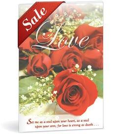 Church Bulletin - Roses (Wedding)