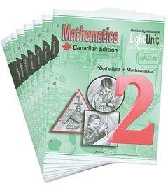 (SE) Canadian Math 201-210 Answer Key Set