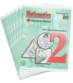 (SE) Canadian Math 201-210 LightUnit Set