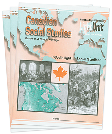 Canadian Social Studies 701-705 Lightunit Set