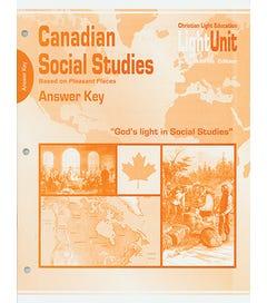 (SE) Canadian Social Studies 801-805 Answer Key