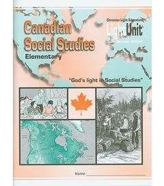 (SE) Canadian Elementary Social Studies LightUnit