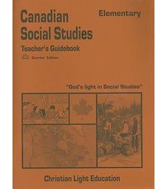 (SE) Canadian Elementary Social Studies - Teacher's Guide