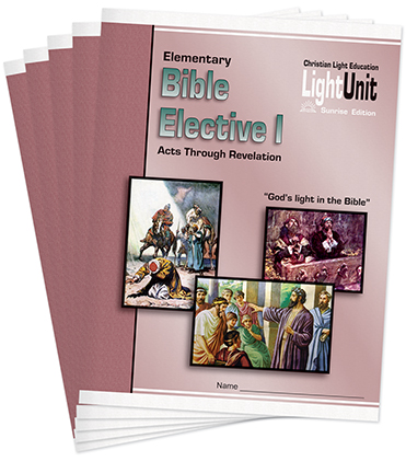 Bible Elective I Units 1-5 LightUnit Set