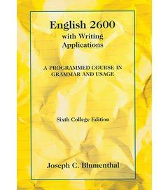 English 2600 - Textbook