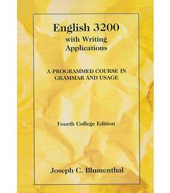 English 3200 - Textbook