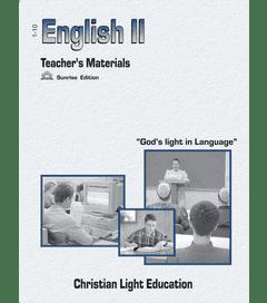 Language Arts 1100 - Teacher's Material