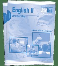 (SE) English II Answer Key Set