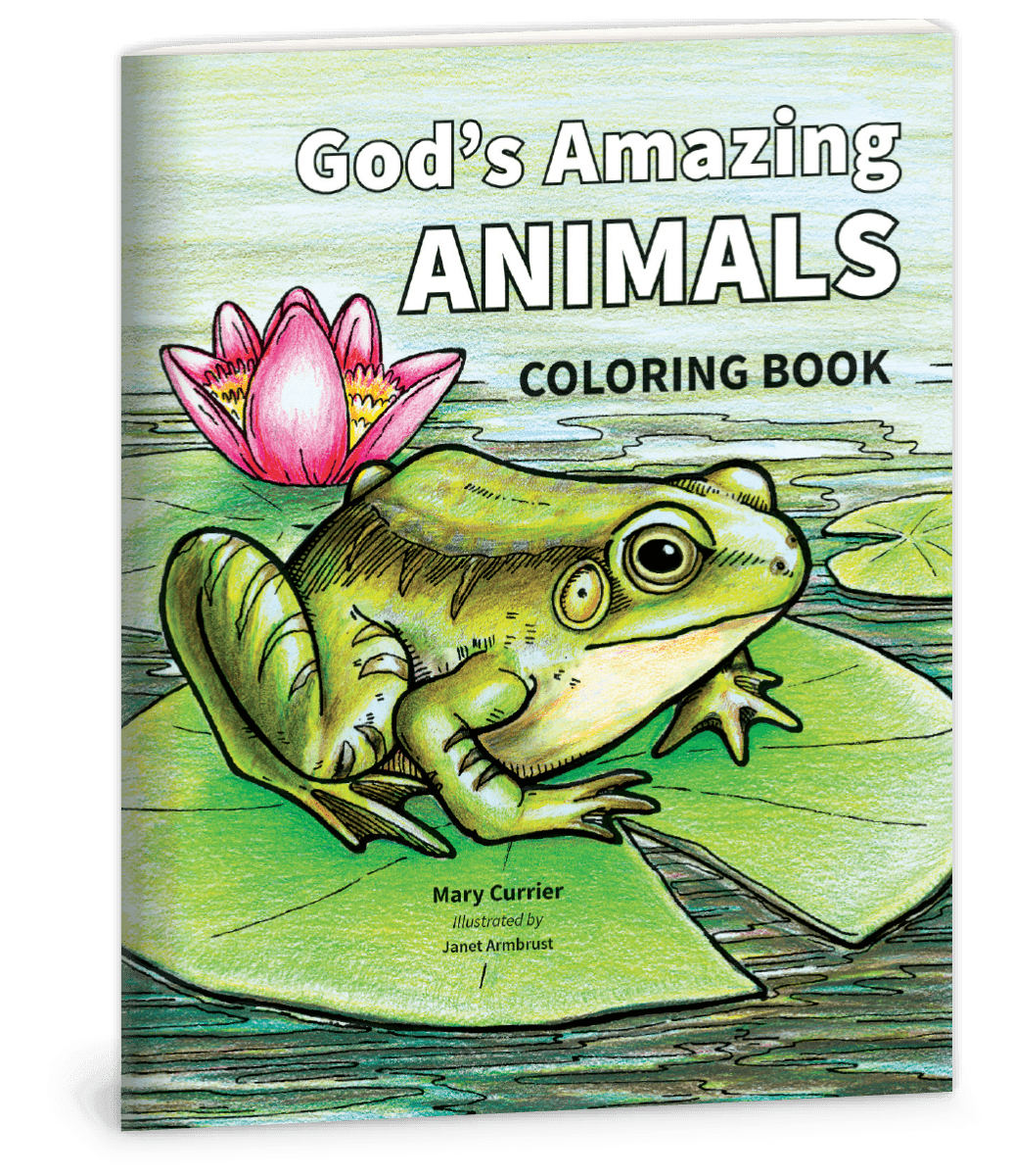 God's Amazing Animals Coloring Book