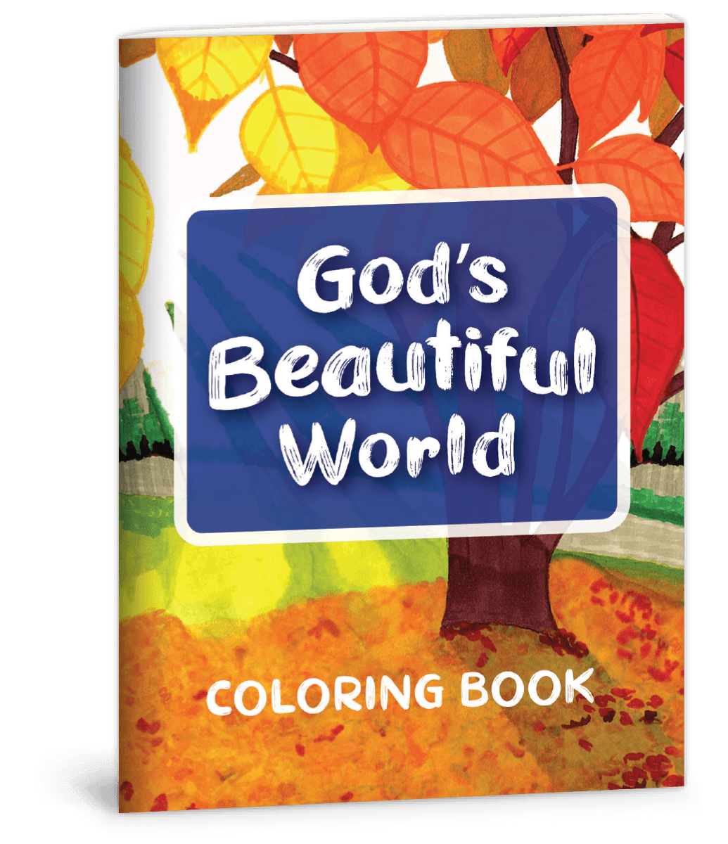 God's Beautiful World Coloring Book