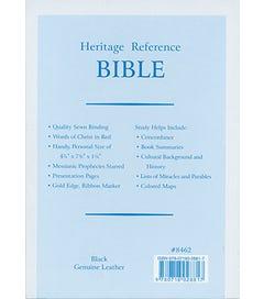 Heritage Reference Bible - KJV