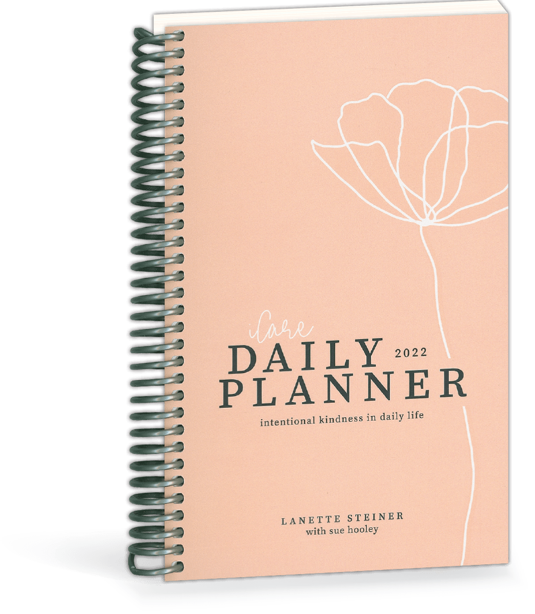 2022 iCare Daily Planner