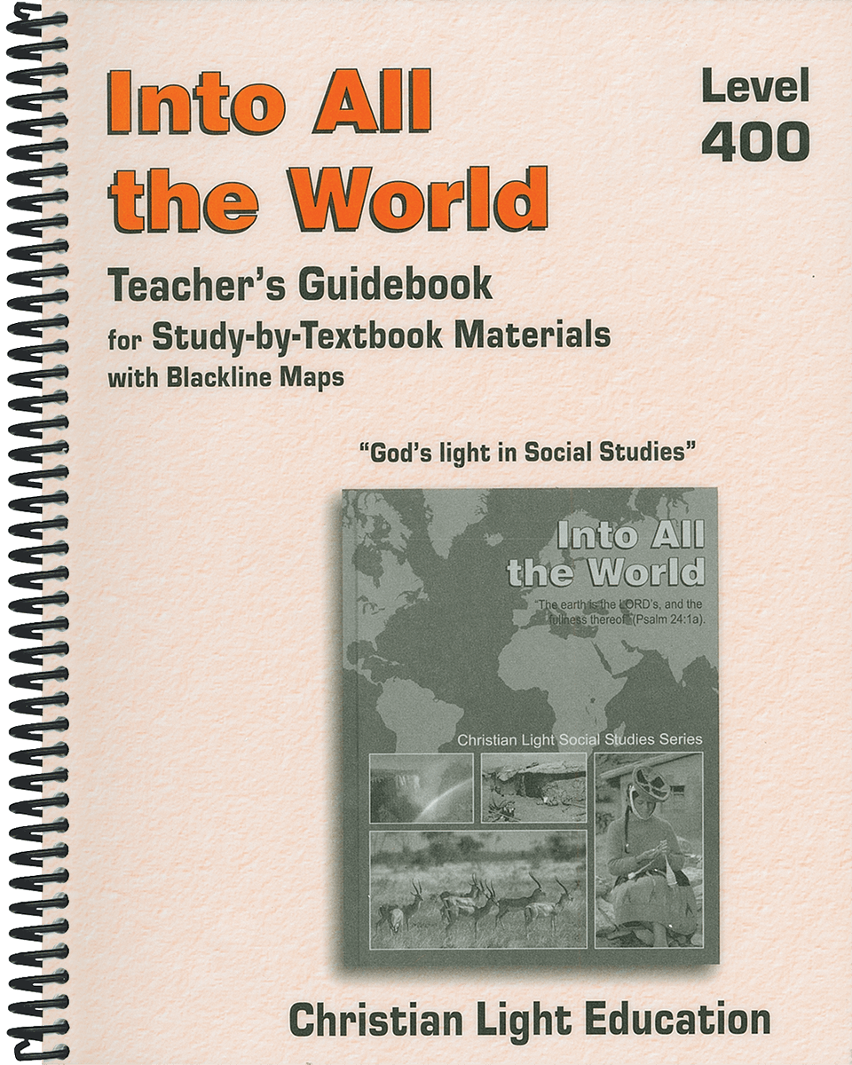 INTO ALL THE WORLD - Teacher's Guide