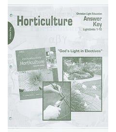 Horticulture - Teacher Materials