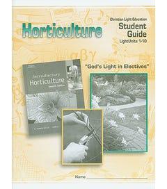 Horticulture - Student Materials