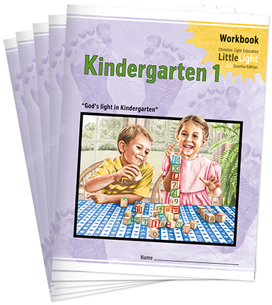 (SE2) Kindergarten 1 LittleLight Workbook Set