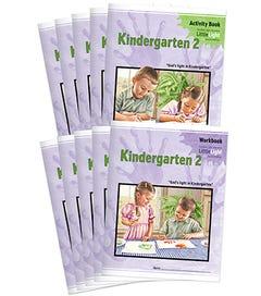 (SE2) Kindergarten 2 LittleLight Workbook & Activity Set