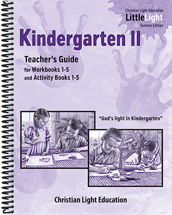 Kindergarten 2 - Teacher's Guide (with answers)