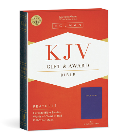Gift and Award Bible - Blue