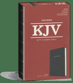 Gift and Award Bible - Black