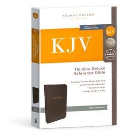 Thinline Reference Bible - Black Deluxe - KJV