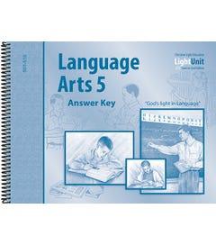 (SE2) Language Arts 501-510 Answer Key - Spiral