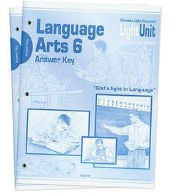 (SE) Language Arts 601-610 Answer Key Set