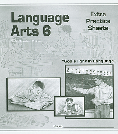 Language Arts 600 - Extra Practice Sheets