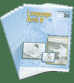 (SE) Language Arts 601-610 Lightunit Set