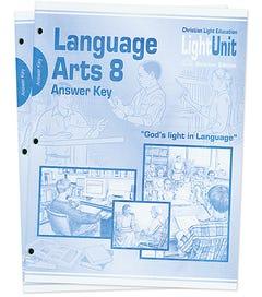 (SE) Language Arts 801-810 Answer Key Set