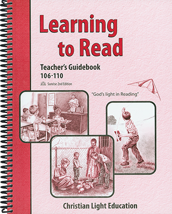 (SE2) Learning to Read 106-110 - Teacher's Guide (with answers)