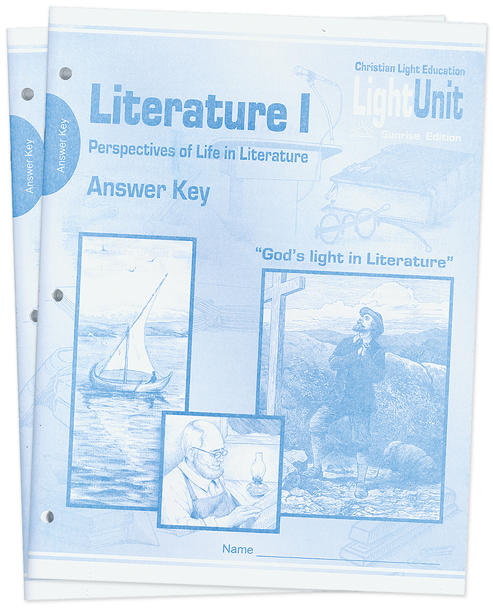 (SE) Literature I Answer Key Set