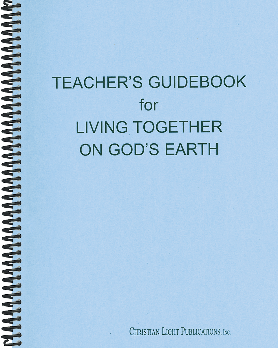 Living Together on God's Earth - Teacher's Guide (with answers)