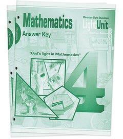 (SE) Math 401-410 Answer Key Set