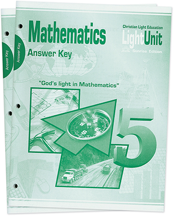(SE2) Math 501-510 Answer Key Set